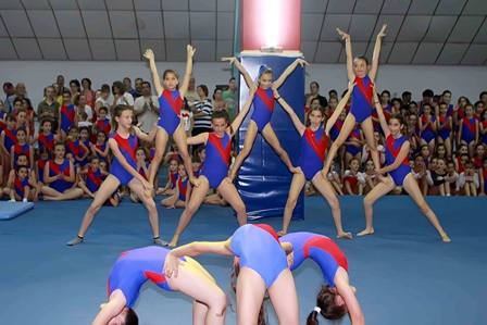 Γυμναστικές Επιδείξεις Τμήματος Ενόργανης Γυμναστικής