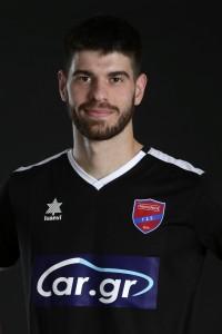 Official Superleague 2019-20 photoshoot, Dimitris Nikas Goalkeeper, Panionios FC, August 22, 2019,  Nea Smirni, Athens, Greece. Photo by: Nikos Mitsouras / Reporter Images