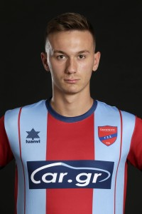 Official Superleague 2019-20 photoshoot, Filippos Selkos Forward, Panionios FC, August 22, 2019,  Nea Smirni, Athens, Greece. Photo by: Nikos Mitsouras / Reporter Images