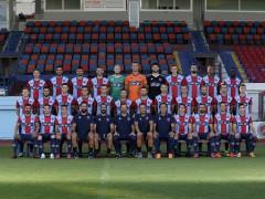 Official Superleague 2019-20 photoshoot, Panionios FC, August 22, 2019,  Nea Smirni, Athens, Greece. Photo by: Nikos Mitsouras / Reporter Images