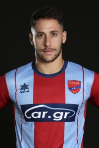 Official Superleague 2019-20 photoshoot, Konstantinos Doumtsios Forward, Panionios FC, August 22, 2019,  Nea Smirni, Athens, Greece. Photo by: Nikos Mitsouras / Reporter Images