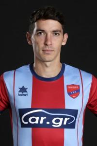 Official Superleague 2019-20 photoshoot, Pedro Arce Forward, Panionios FC, August 22, 2019,  Nea Smirni, Athens, Greece. Photo by: Nikos Mitsouras / Reporter Images